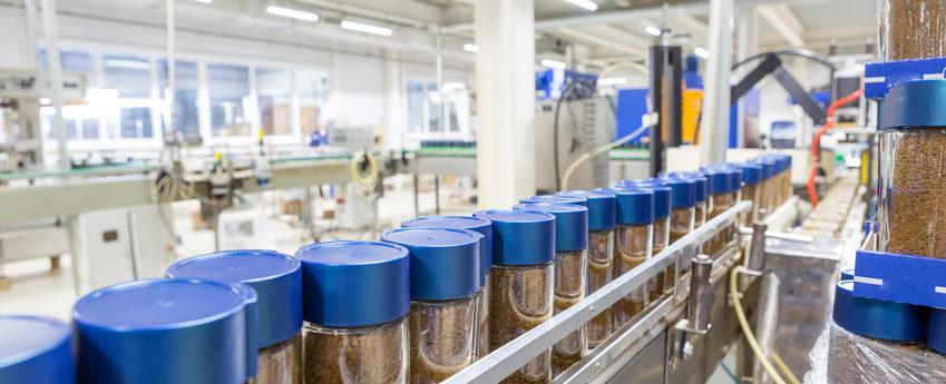 pots en verre pour l'industrie